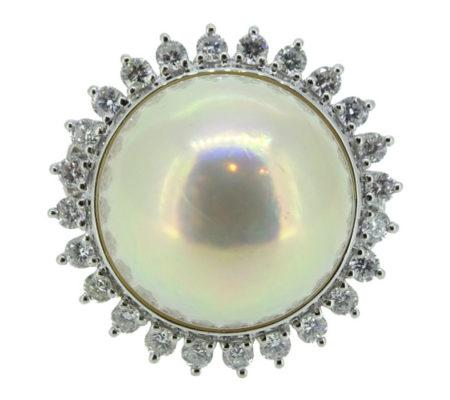 タサキパールダイヤリング画像