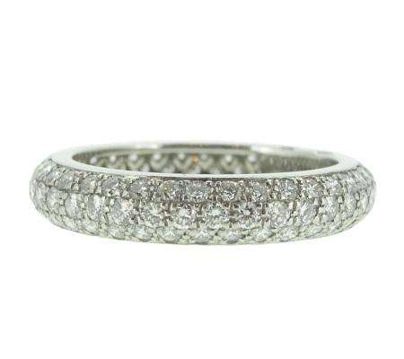 Cartier ダイヤリング画像