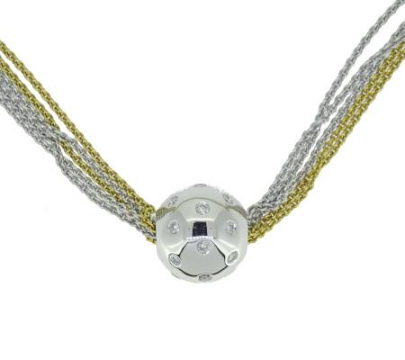 K18ダイヤモンドネックレス26.78g画像
