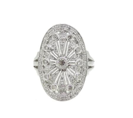 御徒町RIYUでK18ダイヤモンドリング7.34gを買取ました