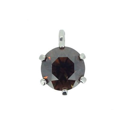 K18WGダイヤモンドペンダント1.03g1.16ct画像
