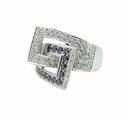 K18ダイヤモンドリング 0.64ct 0.59ct 6.70g画像