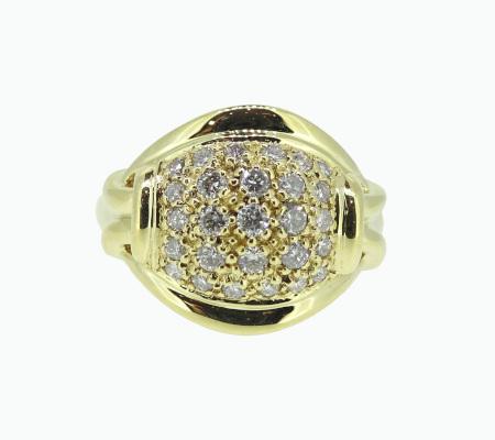 K18ダイヤモンドリング 0.50ct 9.25g画像