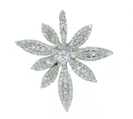 K18ダイヤモンドブリーチ D1.83ct 9.52ℊ画像