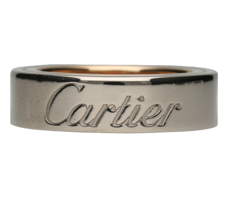【Cartier】750カルティエリング9.79g画像