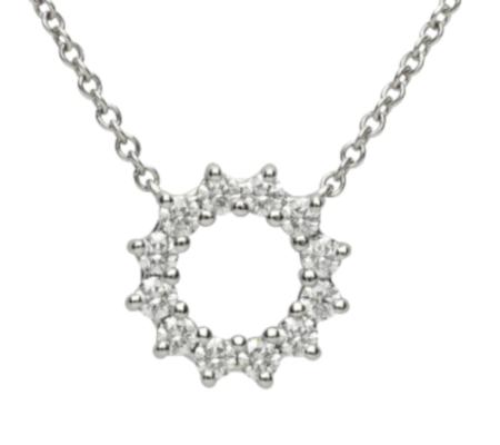 【Tiffany】Pt950ダイヤモンドネックレス2.96g画像