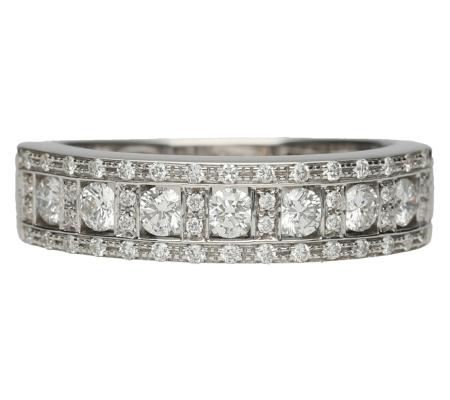 【Damiani】ダミアーニベルエボックK18WGダイヤモンドリング3.34g画像
