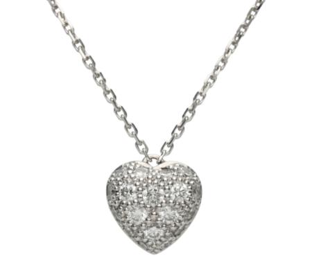 【Cartier】750ダイヤモンドネックレス4.19g画像