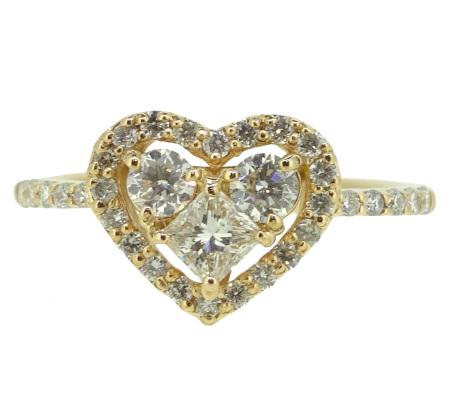 御徒町RIYUでK18PGダイヤモンドリング0.72ct2.86gを買取ました