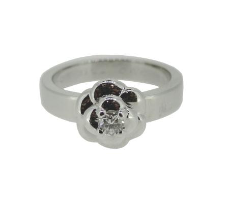 シャネル カメリア 750ダイヤモンドリング 6.70g画像