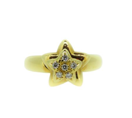 タサキK18ダイヤモンドリング0.06ct8.05g画像